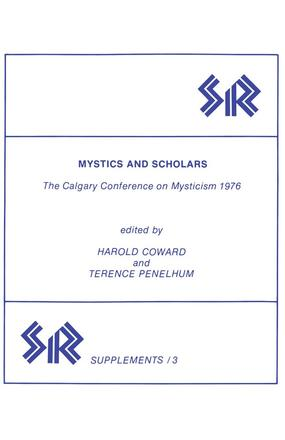 Mystics and Scholars - The Calgary Conference on Mysticism 1976