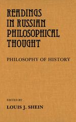Readings in Russian Philosophical Thought