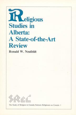 Religious Studies in Alberta - A State-of-the-Art Review