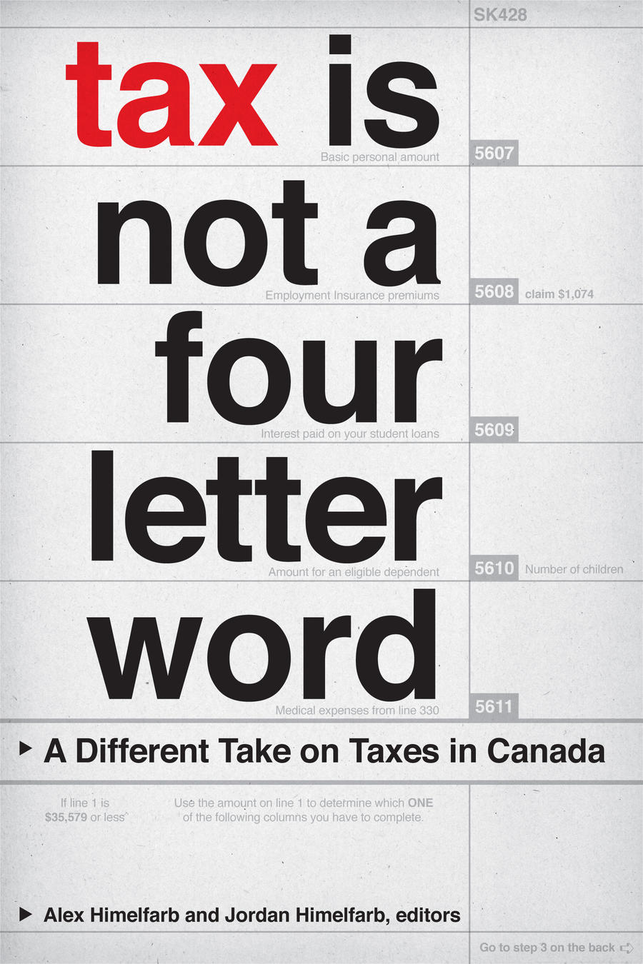 Tax Is Not a Four Letter Word – WLU Press