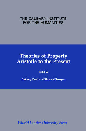 Theories of Property - Aristotle to the Present