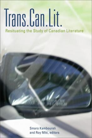 Trans.Can.Lit - Resituating the Study of Canadian Literature