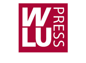 WLU Press red and white, square logo